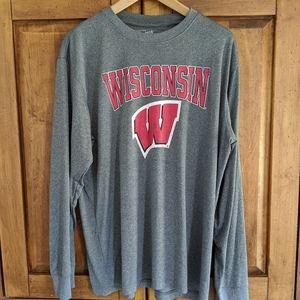 Wisconsin Badger long sleeved shirt